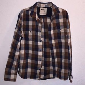 Vans Flannel Shirt Size Medium
